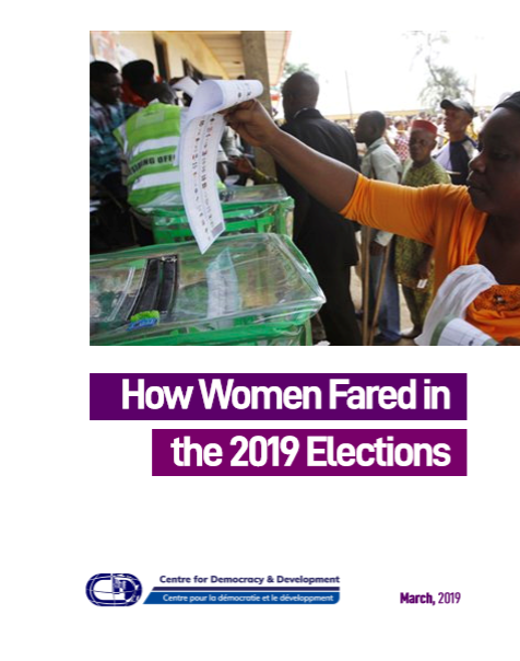How Women Fared in the 2019 Elections