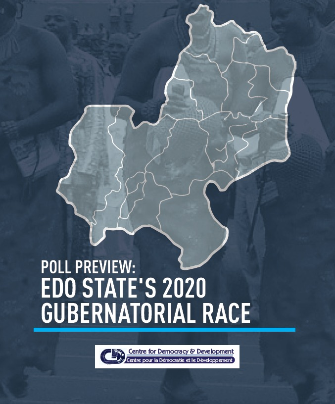 POLL PREVIEW: EDO STATE'S 2020 GUBERNATORIAL RACE