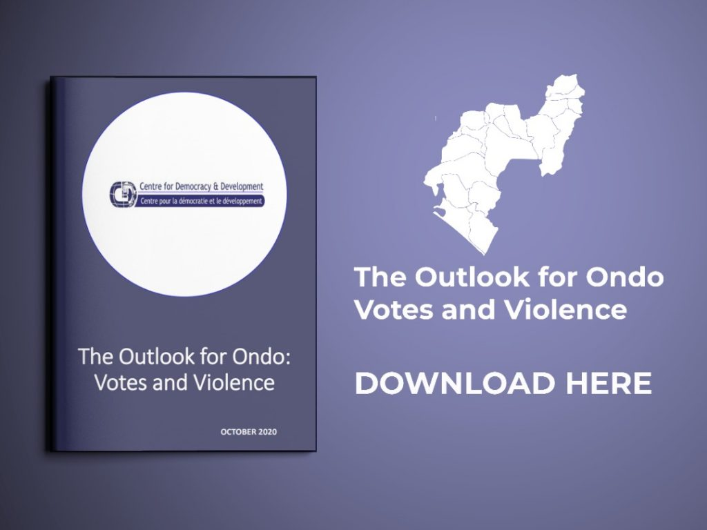 The Outlook for Ondo: Votes and Violence