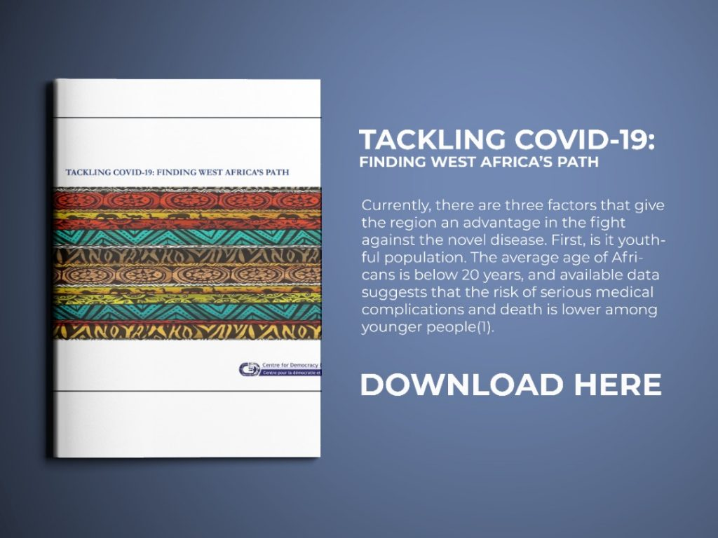 Tackling COVID-19: Finding West Africa's Path